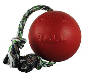 Jolly-Pets-Romp-n-Roll-Ball-With-Rope